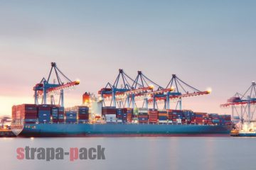 Strapa-pack Container Beladung