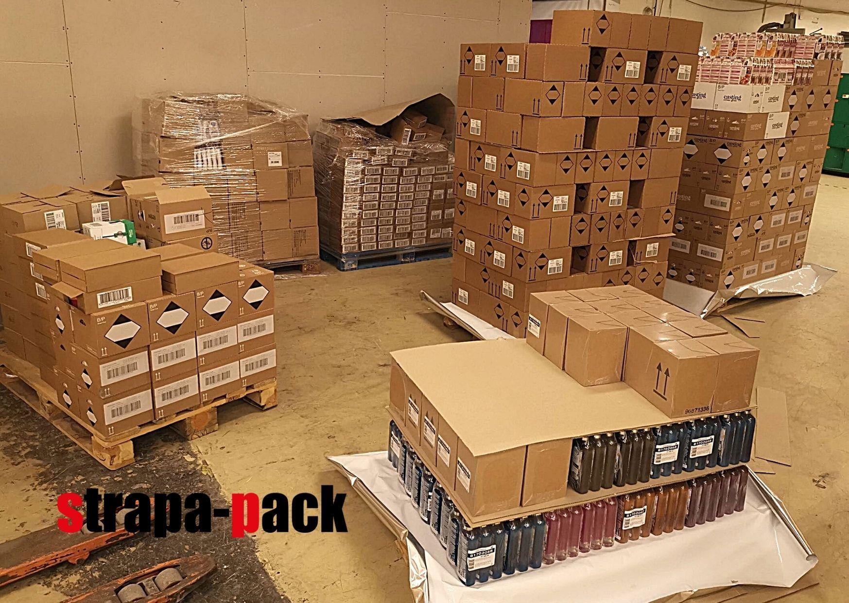 Raklapra komissiózás avagy gyártói gyűjtőcsomagolás üzleti egységekre csomagolása